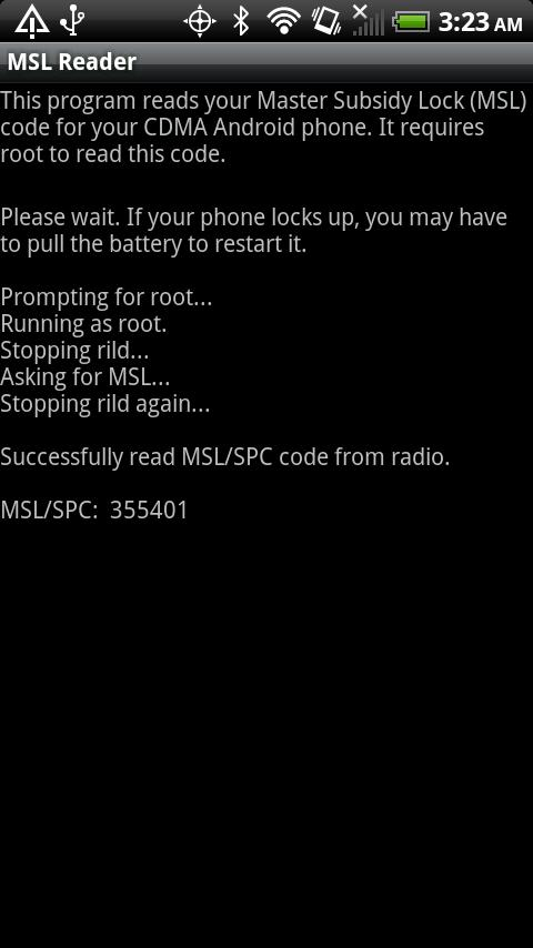 MSL Reader - screenshot