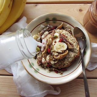 Baked Banana Oatmeal