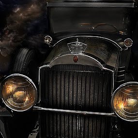 1929 Packard  by Corinne Noon - Transportation Automobiles ( automobiles, car, old, packard, 1929 )