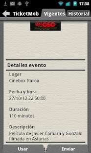 Ticket Mob: miniatura de captura de pantalla
