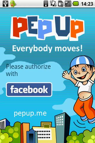 PepUp!- screenshot