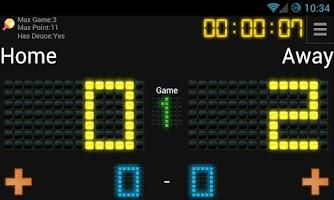 Screenshot of ScoreTrack