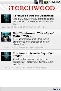 iTorchwood- screenshot thumbnail