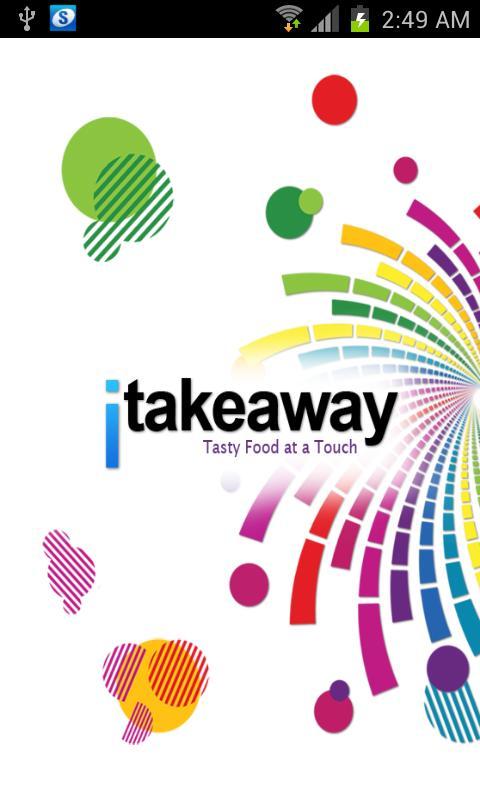 itakeaway- screenshot