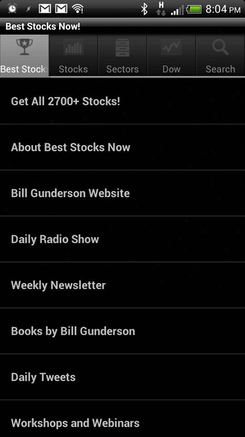 Best Stocks Now! - screenshot