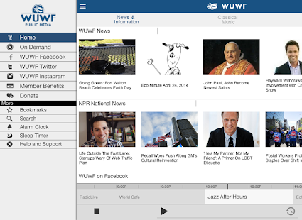 WUWF Public Radio App- screenshot thumbnail