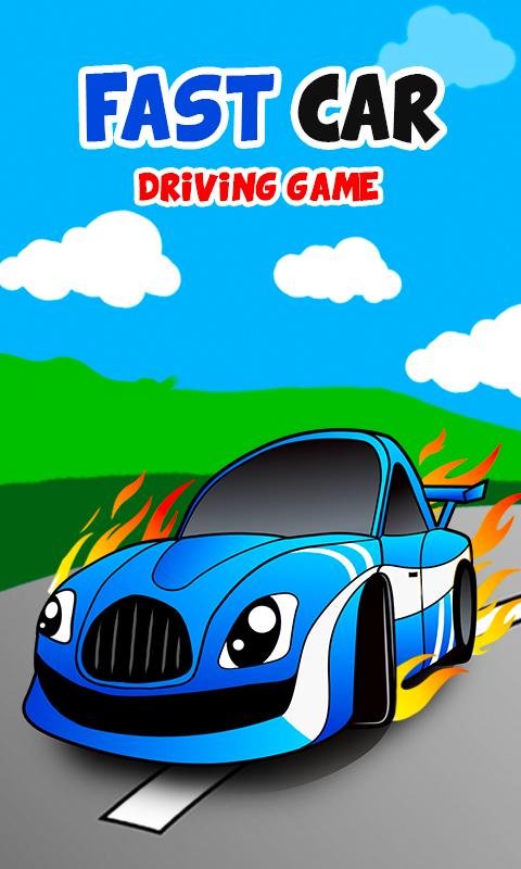 fast car games for little kids screenshot