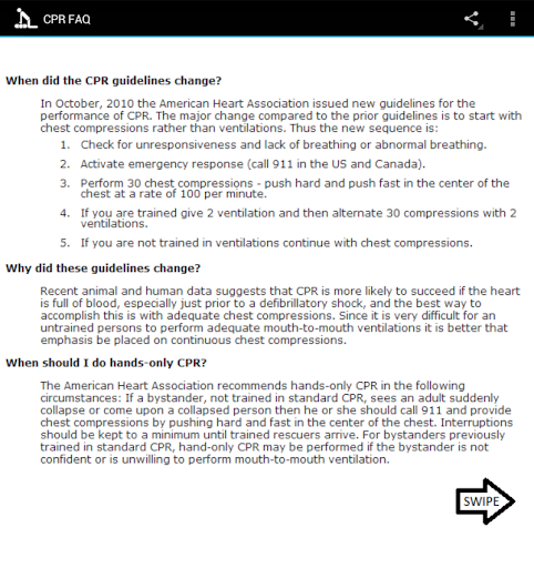 【免費醫療App】Learn CPR!-APP點子