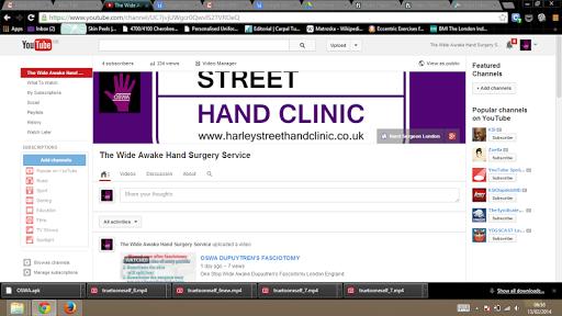 Wide Awake Hand Youtube App