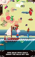 Screenshot of Ridiculous Fishing