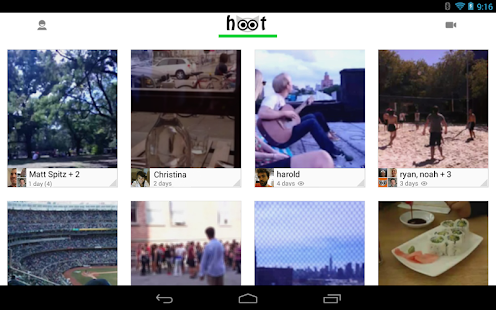 Hoot – Free Video Messaging- screenshot thumbnail
