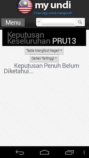 Keputusan Keseluruhan PRU13