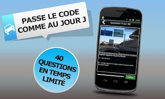 Screenshot of Code de la Route à la carte