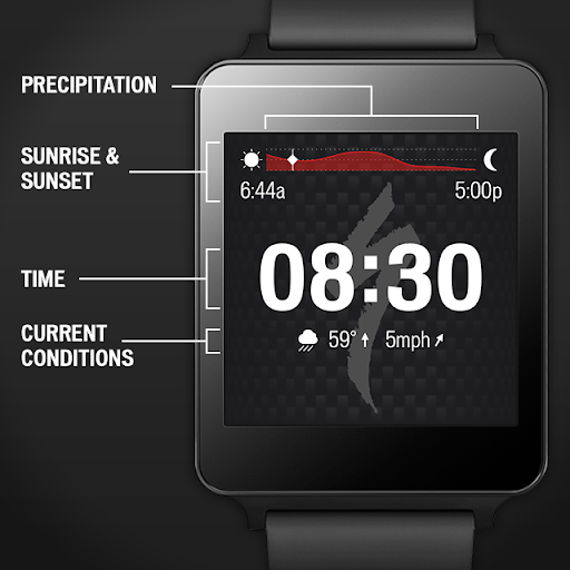 Specialized Bikes Watch Face