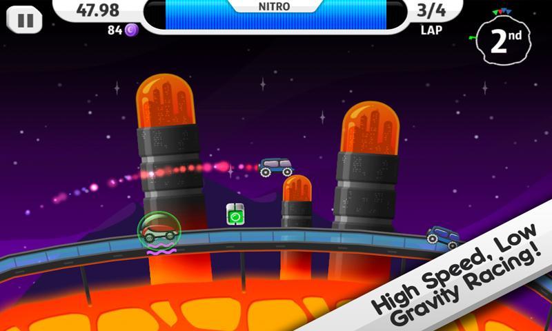 Lunar Racer screenshot #1