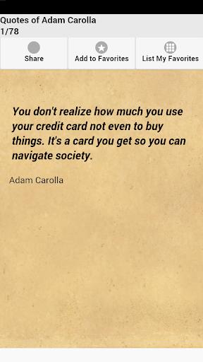 Quotes of Adam Carolla