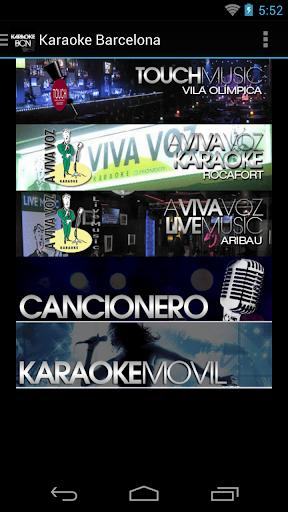 Karaoke Barcelona