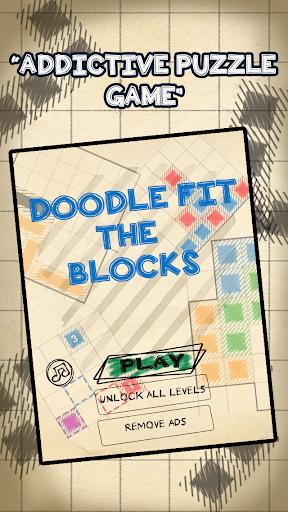 Doodle Fit the Blocks