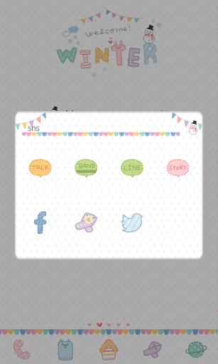 【免費個人化App】겨울아 어서와 도돌런처테마-APP點子