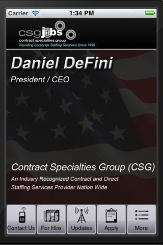 CSGJobs - Daniel Defini