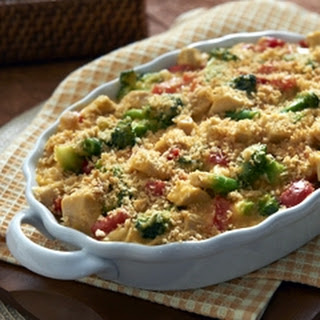 Cheddar Broccoli & Chicken Casserole