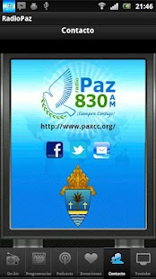RADIO PAZ 830 AM - screenshot thumbnail