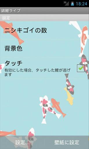 玩個人化App 錦鯉ライブ免費 APP試玩