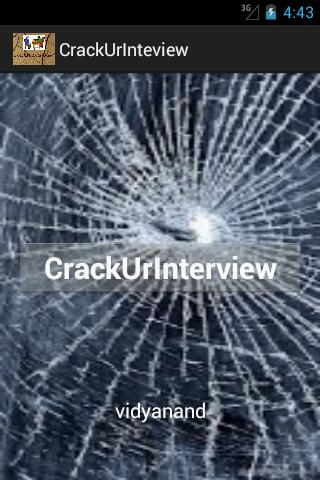 Crack Your Interview Demo