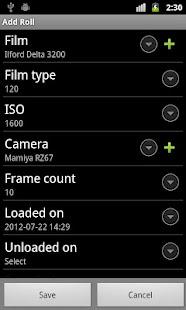 Exif4Film- screenshot thumbnail