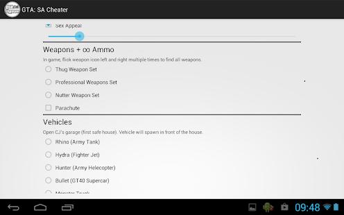 Download JCheater: <b>San Andreas</b> Edition Apk 2.3,com.jdroid ...