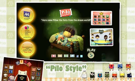 我是枕头妖精琵珯-动画书-儿童教育 英文 韓文 1