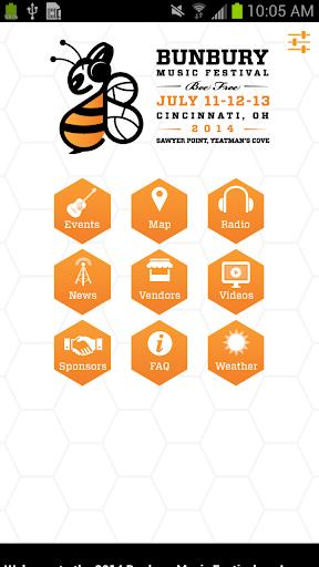 【免費音樂App】Bunbury Music Festival-APP點子