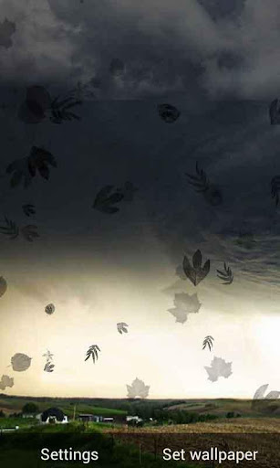 Furious Tornado Live Wallpaper