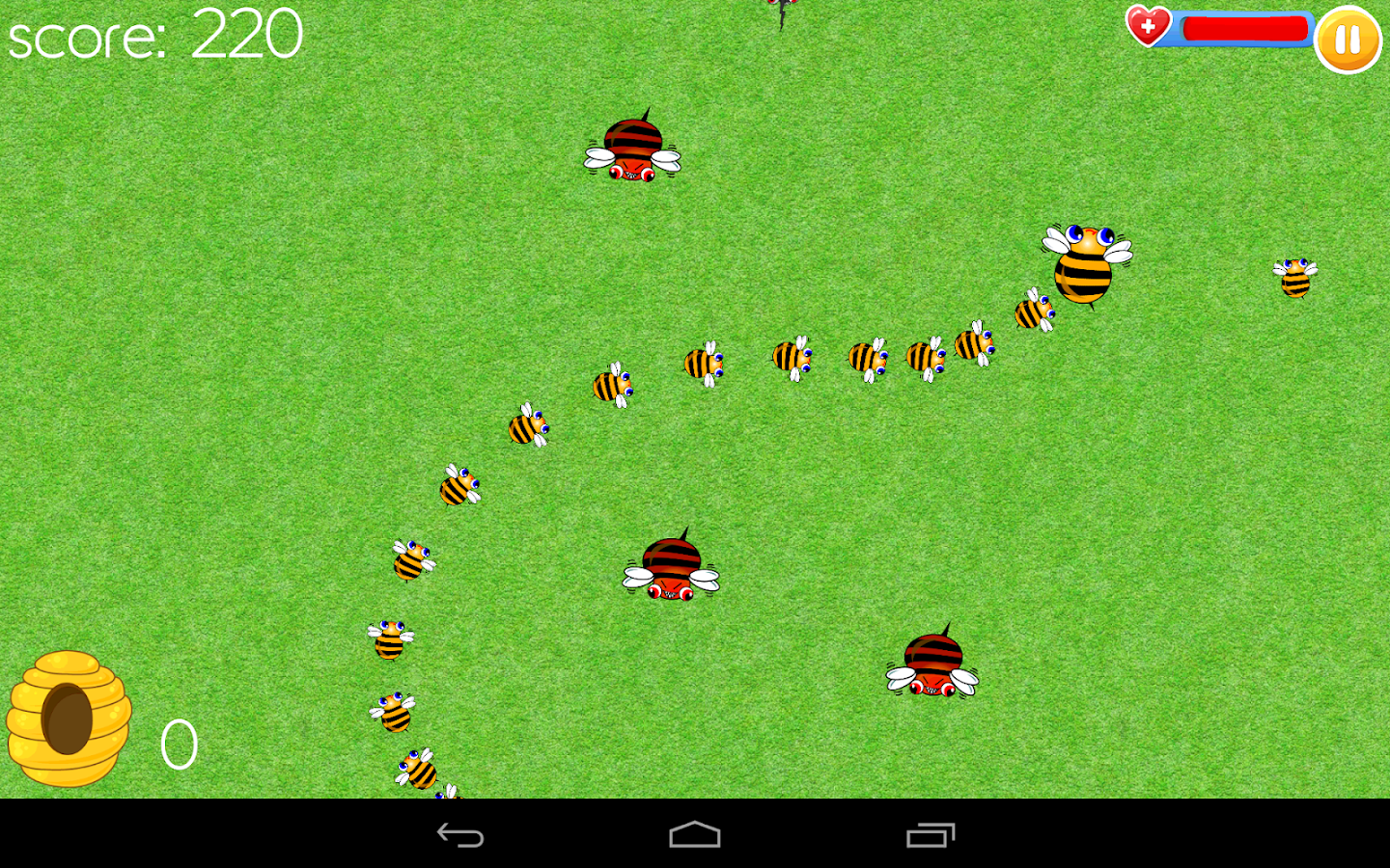 Catch the bees- screenshot