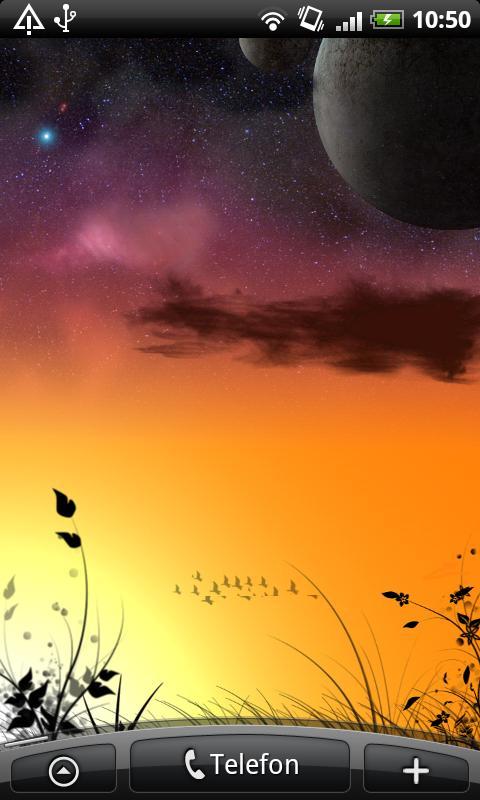 Fantasy Dawn Live Wallpaper- screenshot