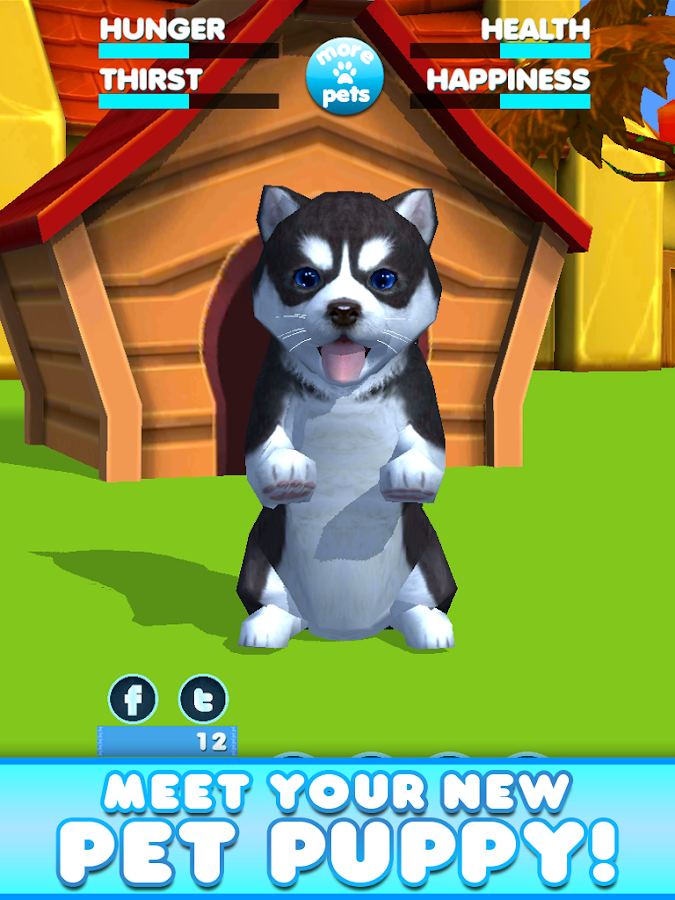 Virtual Pet Puppy- screenshot