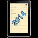Agenda 2014 icon