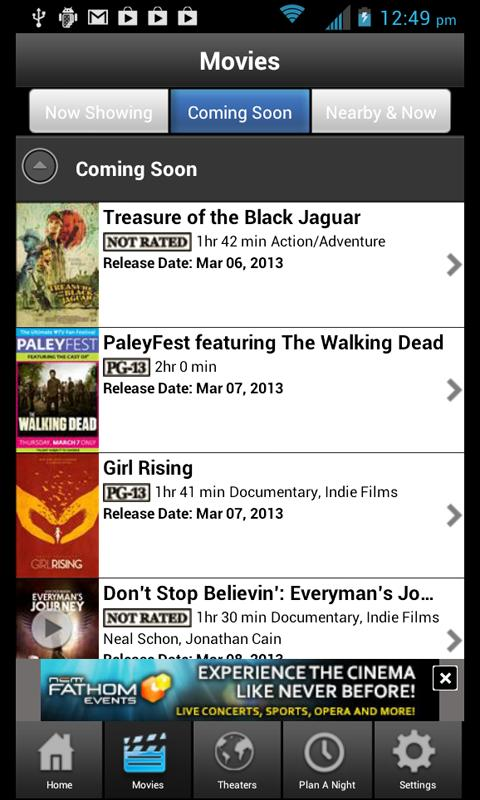 Movie Night Out FirstLook Sync - screenshot