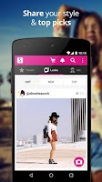 Screenshot of Shopcade - Fashion & Shopping