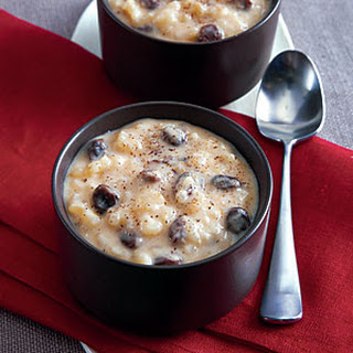 Rum-Raisin Arborio Pudding