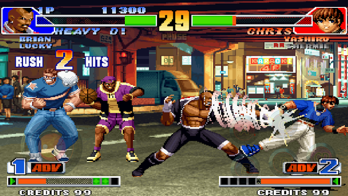 THE KING OF FIGHTERS'98 - screenshot