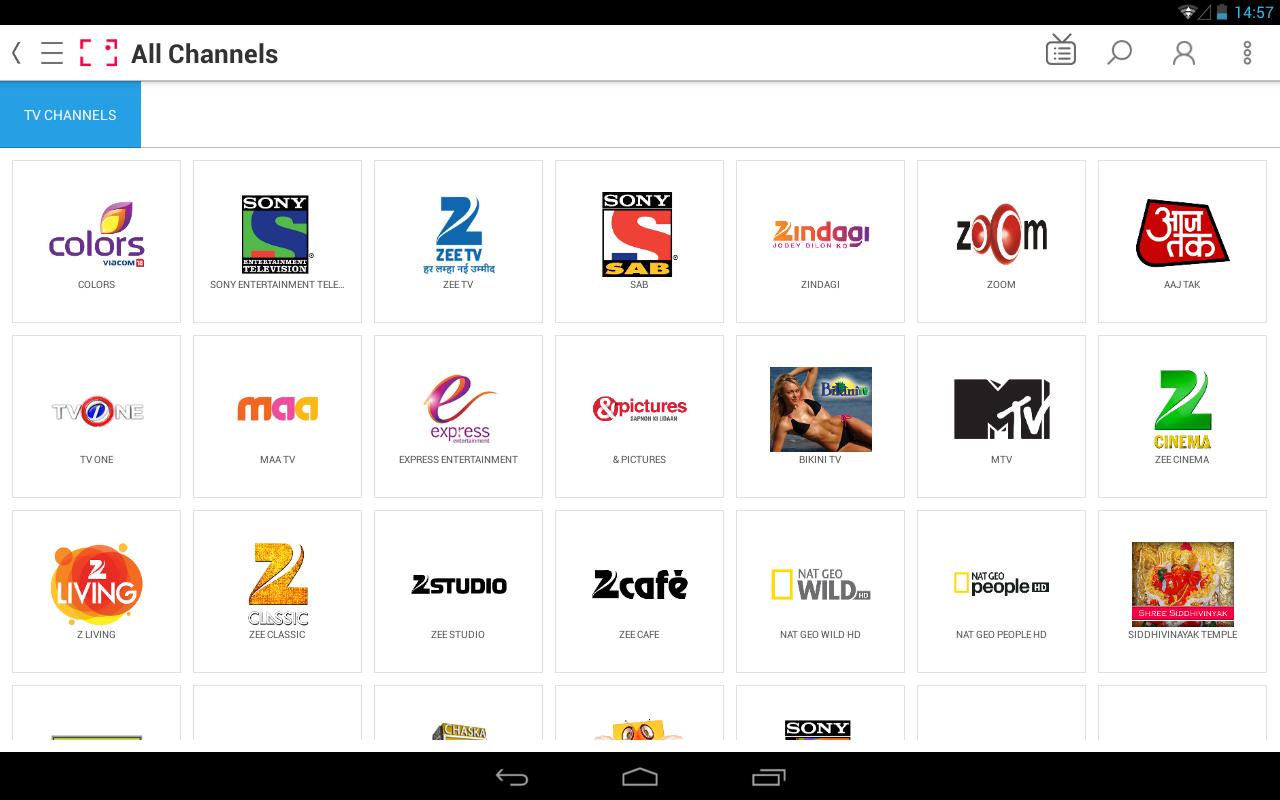 Ditto TV:LiveTV,TVShows,Movies - screenshot