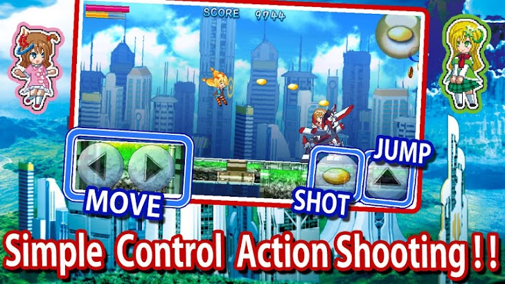 Unity-chan's Action Shooting APK For Android - Short Review Apps and
