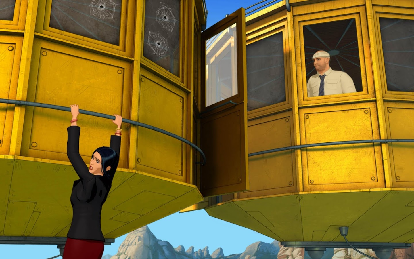 Broken Sword 5: Episode 2 - screenshot