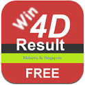 Win 4D Results (MY & SG) icon