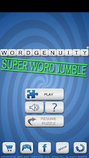 Wordgenuity ®Super Word Jumble - screenshot thumbnail