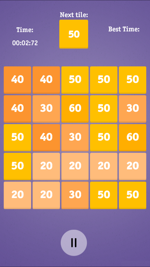 Hundred tiles- screenshot