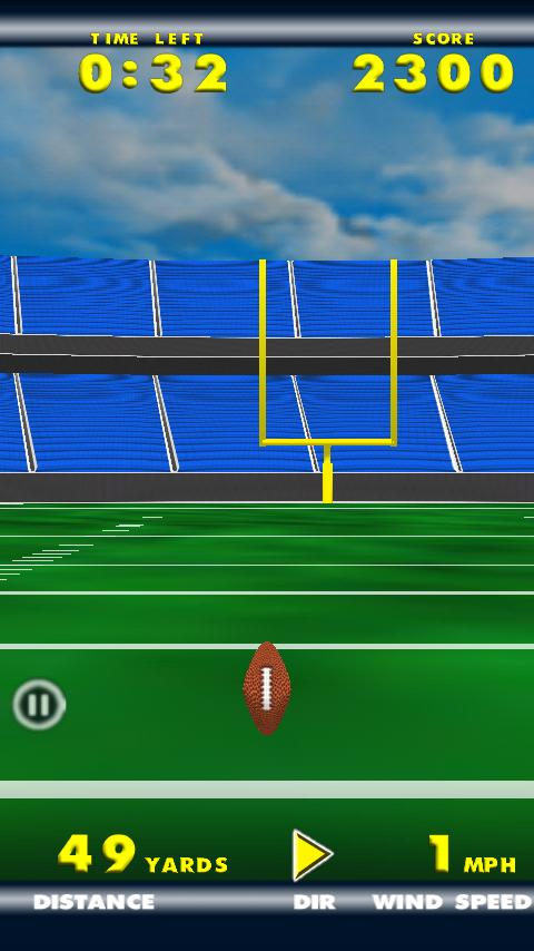 Field Goal Fever - screenshot
