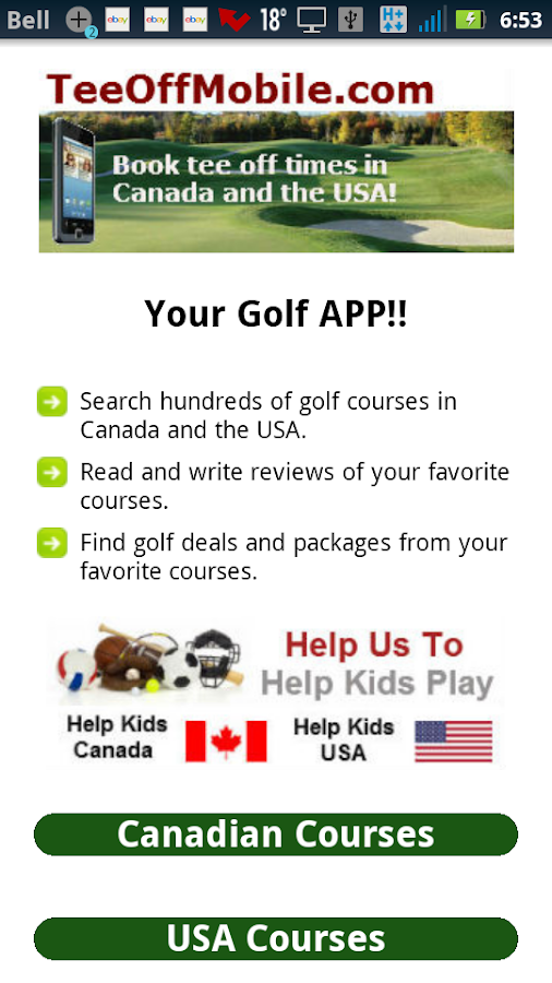 Golf deals quebec
