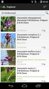 PlantNet Plant Identification - screenshot thumbnail